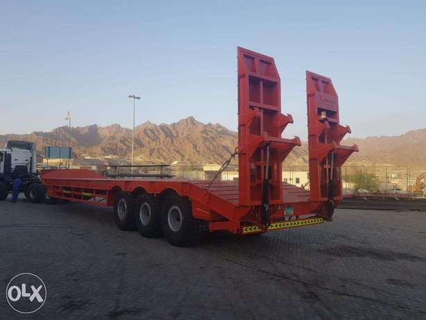 low bed trailers with sand tyrs 24R21