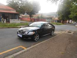 Lexus GS300, 2010 model, Black in color, Full house, Automatic