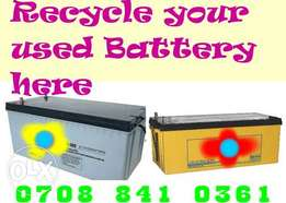 Used inverter Battery Owerri Imo state