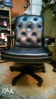 Leather recliner office study boadroom use at 23k