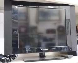 "Jumbo - 19"" Flat Screen Tv - In Perfect Condition"