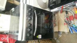 Rest point gas cooker oven with grill
