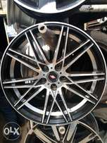 Alloyed $ first grade toks tyre size 18