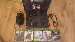 Xbox one 500gb master chief collection- 5 games, multiple add-ons