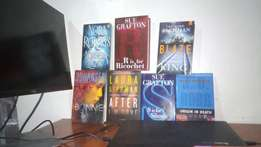 Novels in hard copy, all genres and all authors