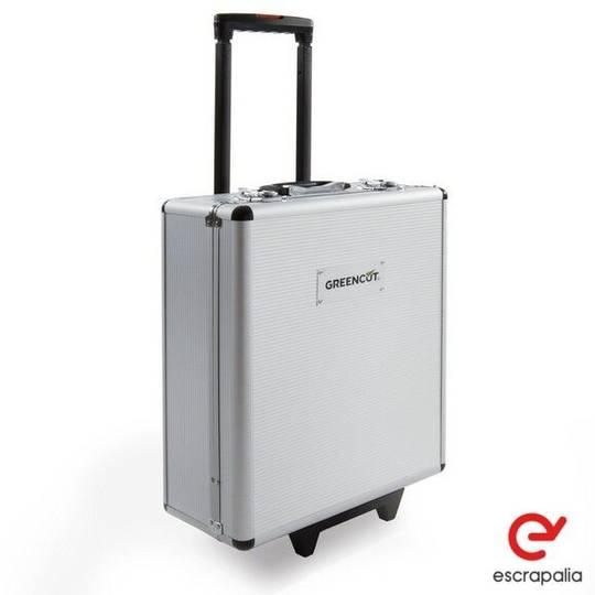 Sale maletín herramientas troley aluminio 416 piezas  equipment