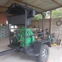 2 Cylinder Lister Diesel Engine with Waterpump on Trailer Call Now