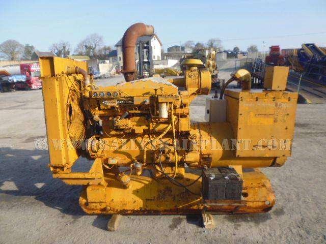 Caterpillar 219 Kva Diesel Generator