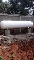 Bulky gas containers