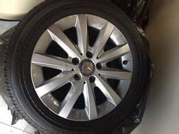 original Mercedes Rims & Bridgestone Runflat tires205 /55/16