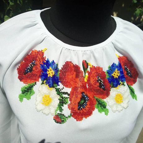 8711959abace94 Заготовка для платья вышитая бисером