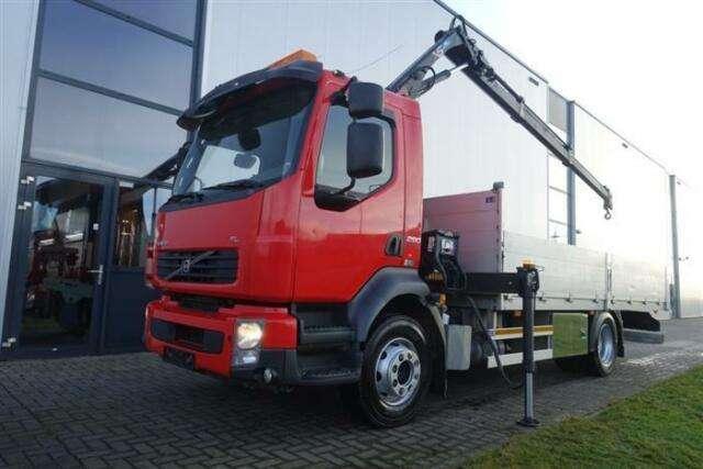 Volvo Fl290 4x2 Manual Hiab Xs 066 2 Hiduo Euro 5 - 2011