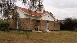 4 Bedroom Bungalow on half acre in Kitengela