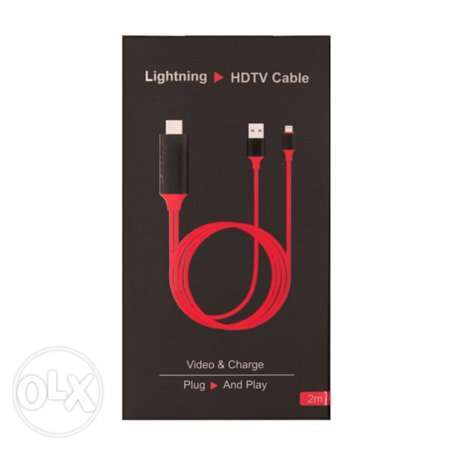Lightning to HDMI Cable Adapter, HDMI Cable HDTV Adapter