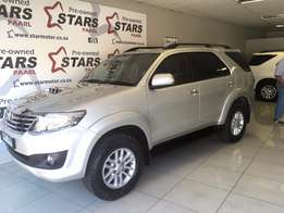 2013 Toyota Fortuner 2.5 D4D A/T 84000km Silver Available Now!!