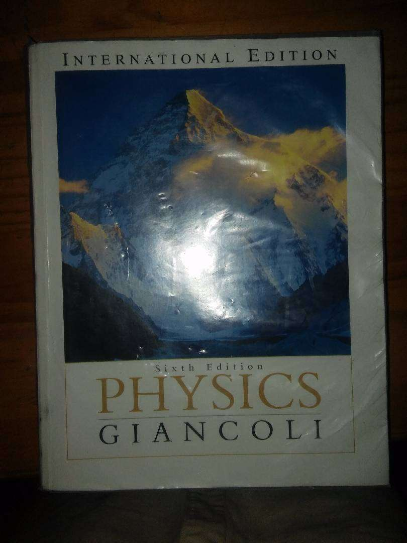 PHYSICS GIANCOLI 6TH Edition Text Book