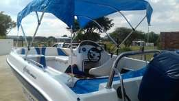 Familie Boat for sale Yamaha Explorer scl 2003 fitted with Yamaha 130