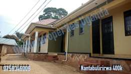 Fabulous selfcontained 2 bedroom house in Nantabulirirwa at 400k