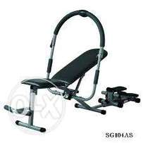 Brand new Ab king pro with stepper exercise