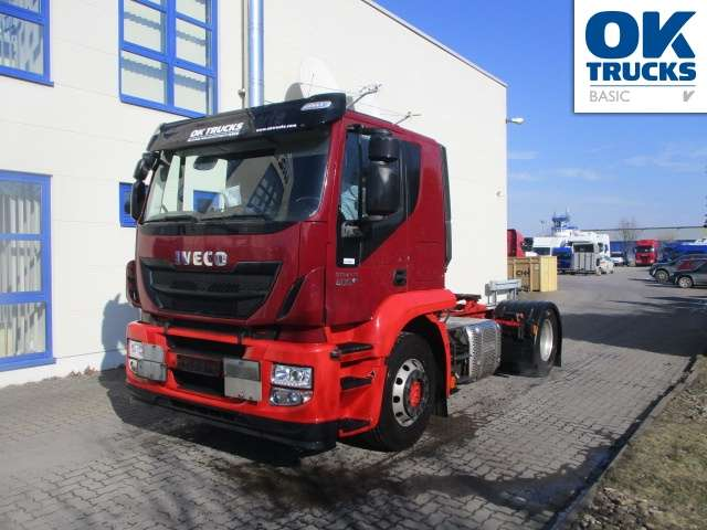 Iveco Stralis AT440S40T/P Euro6 Klima Luftfeder ZV Standhzg - 2014