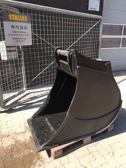 Graveskovl/bucket/tieflöffel 754 Kg