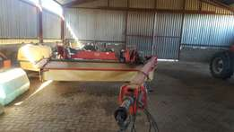 Vicon 8 disc mower for sale