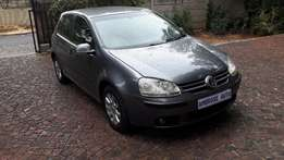 2007 Vw Golf 5 2.0 Comfort line is available