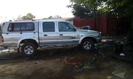 Mazda drifter or ford ranger double cab