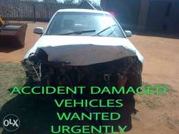 cars and bakkies for cash or instant EFT