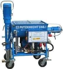 Ulzner Putzknecht S48.3 Putzmaschine Fliesestrichmaschine Plastering Machine - 2013