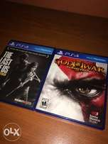 PS4 Last of us and God of war 3