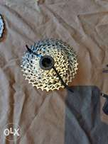 SRAM 10 speed cassette and chain for sale.