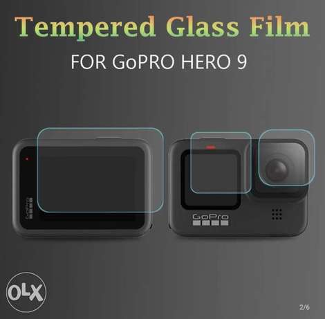 Tempered Glass Protector for gopro 9 السيب -  1
