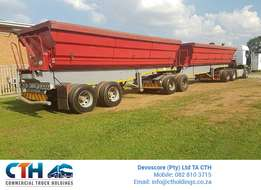 2013 Interlink Side Tipping Trailers - 16 Available