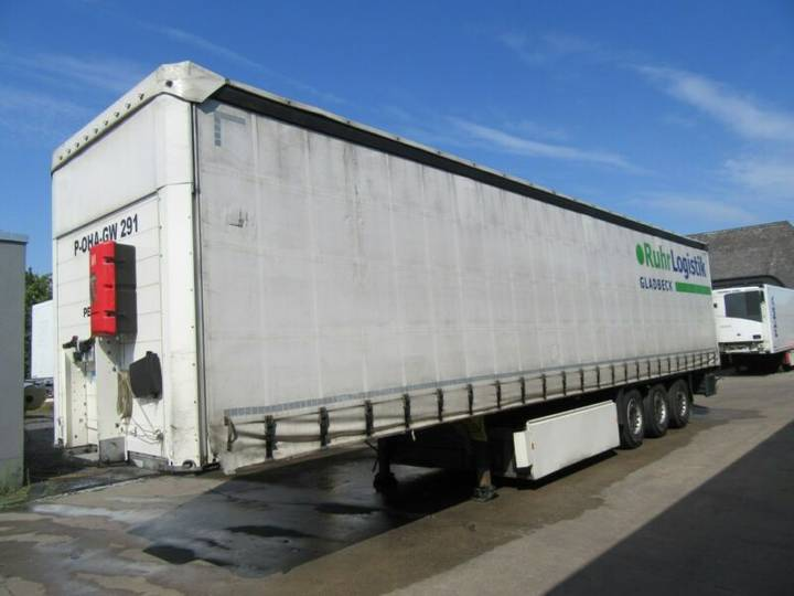 Schmitz Cargobull SCS 24 Palettenkasten XL Getränke Scheibe - 2012