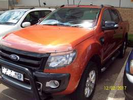 2012 Ford Ranger 3.2 TDCi Wildtrack DC Manual 4X2