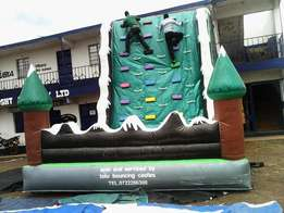 inflatable climbing towers for hire