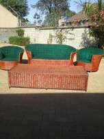 5 seater payprus sofa & 1pc sofa bed with mattress