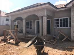 an executive and a newly built three house for sale at lakeside