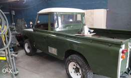 Land Rover Series 3 Pick up