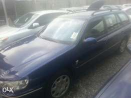 Tincan cleared tokunbo Peugeot 406 wagoon