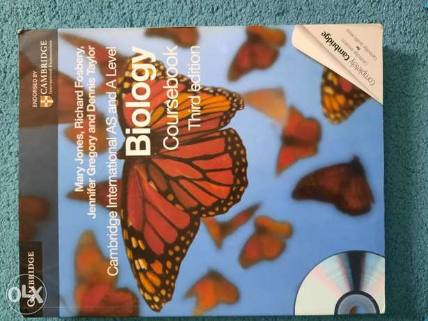 Cambridge International AS and A Level Biology Coursebook