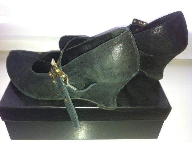 f61245d83b14 Продам женские кожаные туфли на танкетке  500 грн. - Женская обувь ...