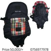 Checked baby carriers