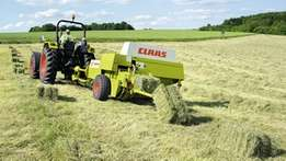 Baling machine for hire
