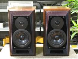 technics sb-m300m2 passive studio monitors (Dual Dynamic Drive)