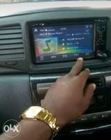 Double radio fitted in a Premio