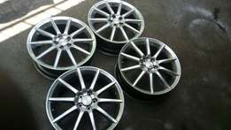 Rims for subaru toyota all cars available