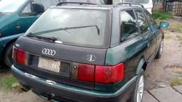 Extremely sound and sharp first body Audi 80 wagon with factory AC