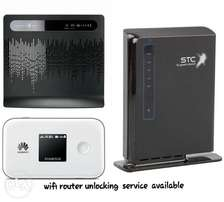 wifi router unlocking service available..
